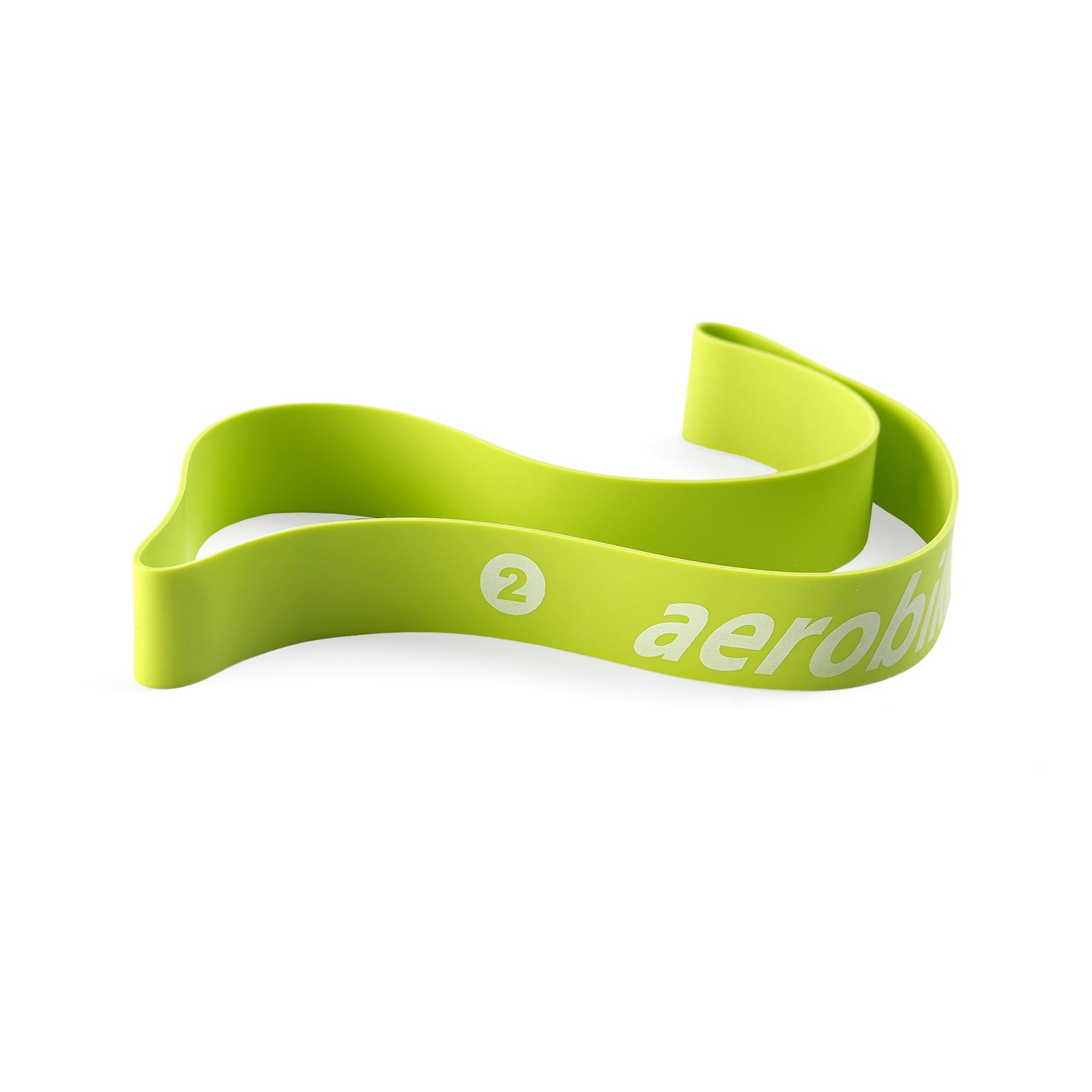 Bande élastique verte Aerobika Moyen