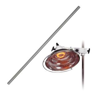 Tube inox 190 cm Lampe 4003