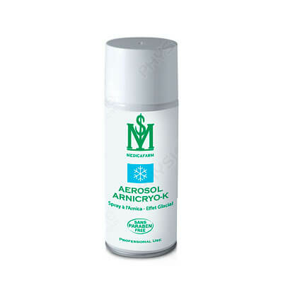 Spray ARNICRYO-K à l'Arnica Effet glacial