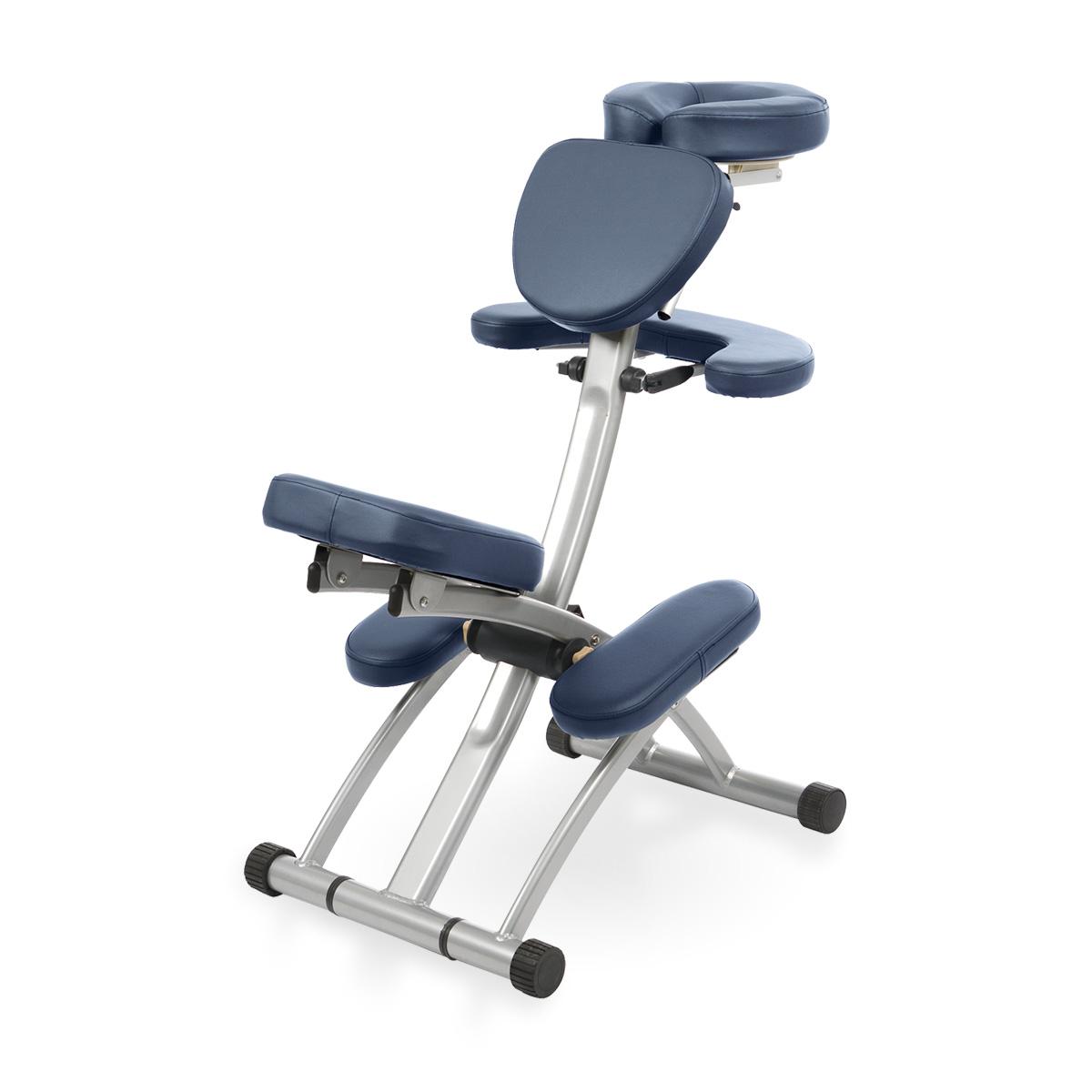 Chaise de massage ERGO - Bleu marine - Reconditionnée