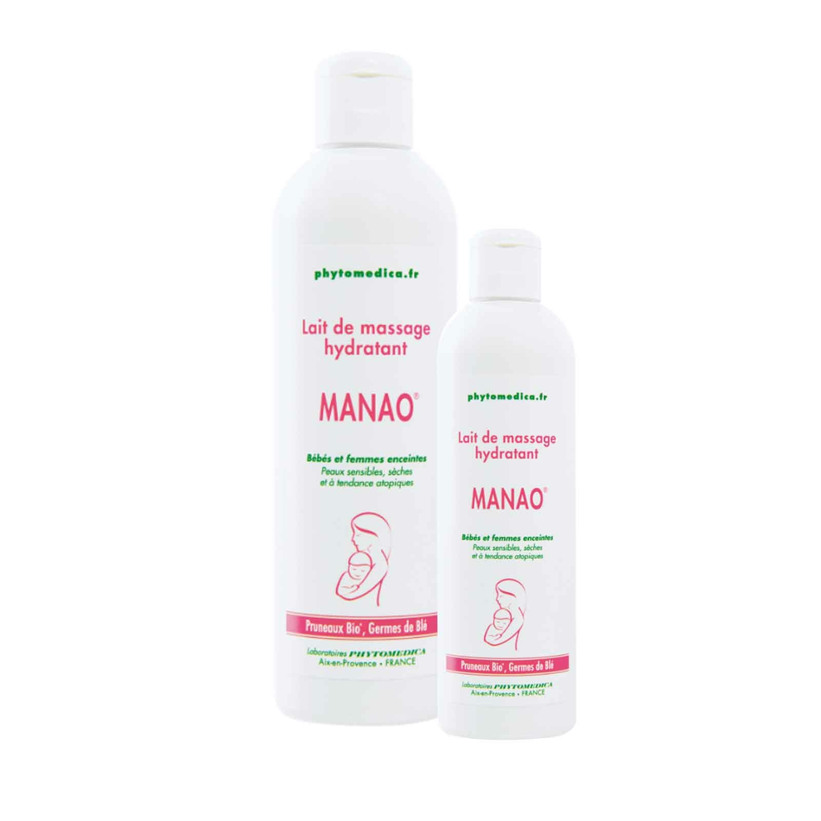 Lait de massage MANAO Phytomedica