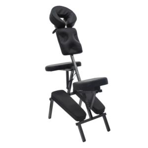 Chaise de massage noire reconditionnée