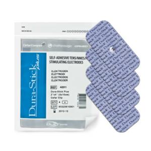 Électrodes à clip Dura-Stick® Plus 5 x 10 cm