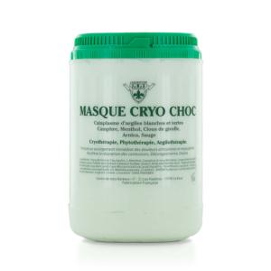 Masque argile Cryo Choc 1L LABORATOIRE JRS