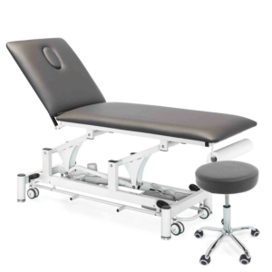 Table PhysioPRO® Gris graphite + Tabouret