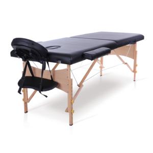 Table de massage pliante bois