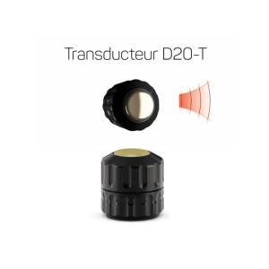 Transducteur D20-T noir 20 mm