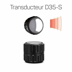 Transducteur D35-S noir
