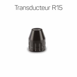 Transducteur R15 15mm noir