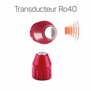 Transducteur Ro40 15mm rouge