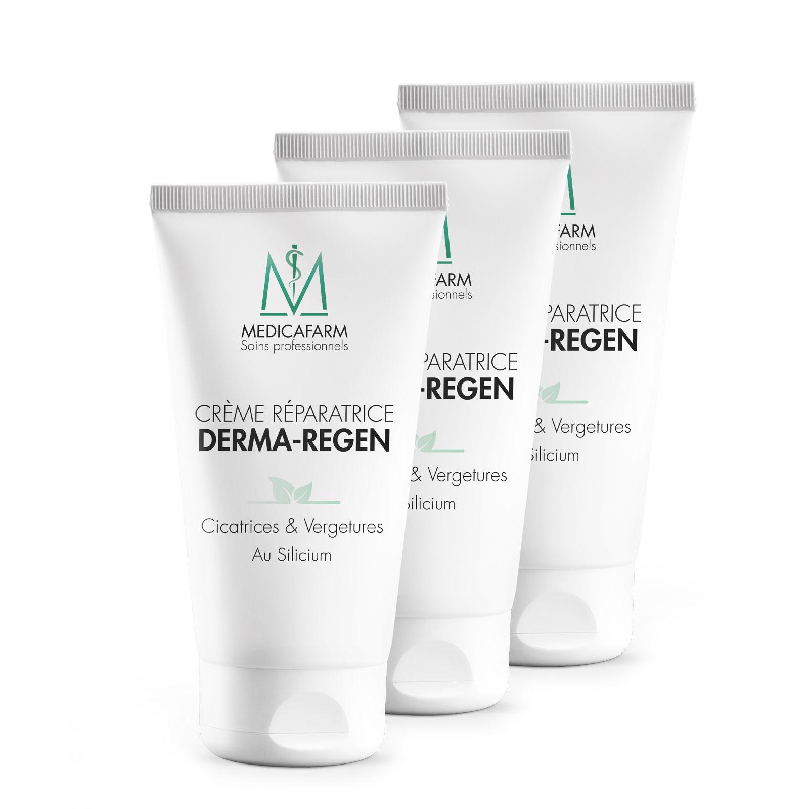 Lot de 3 Crèmes réparatrices Derma-Regen