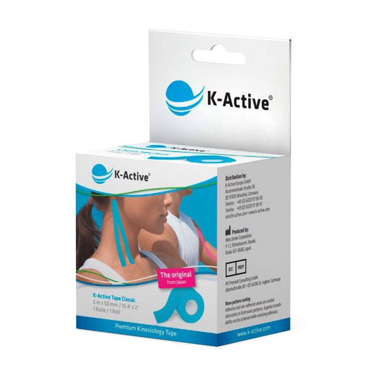 K-Active® taping Bleu