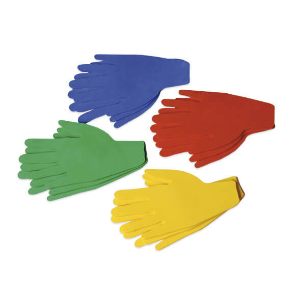 Empreintes de main (x6)