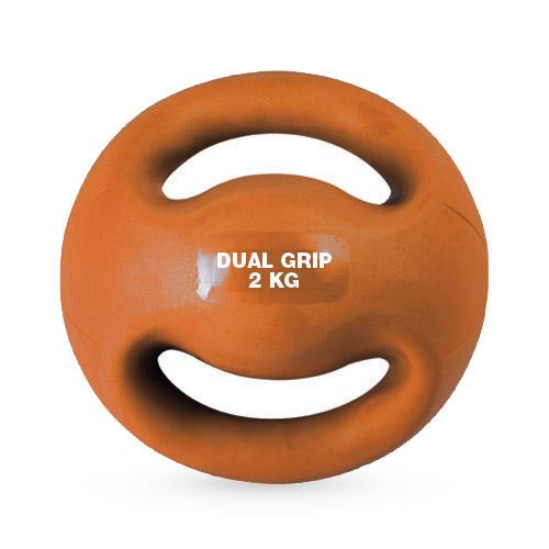 Medecine Ball double poignées 2 kg