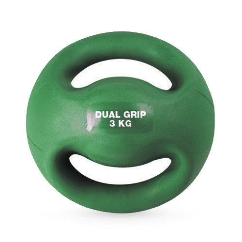 Medecine Ball double poignées 3 kg