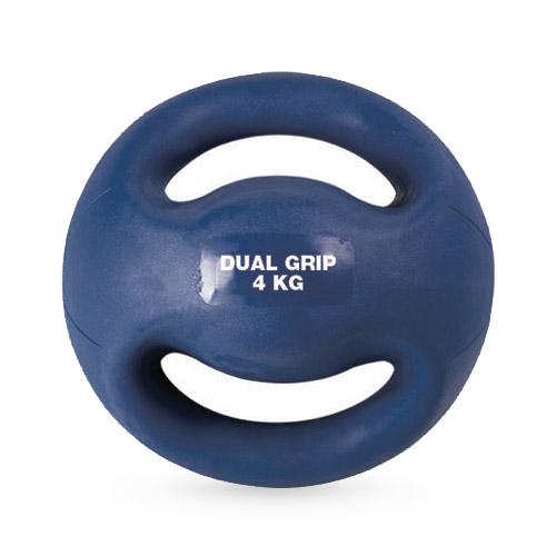 Medecine Ball double poignées 4 kg