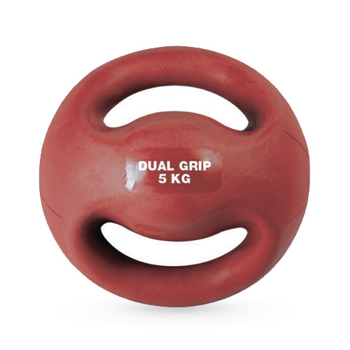 Medecine Ball double poignées 5 kg
