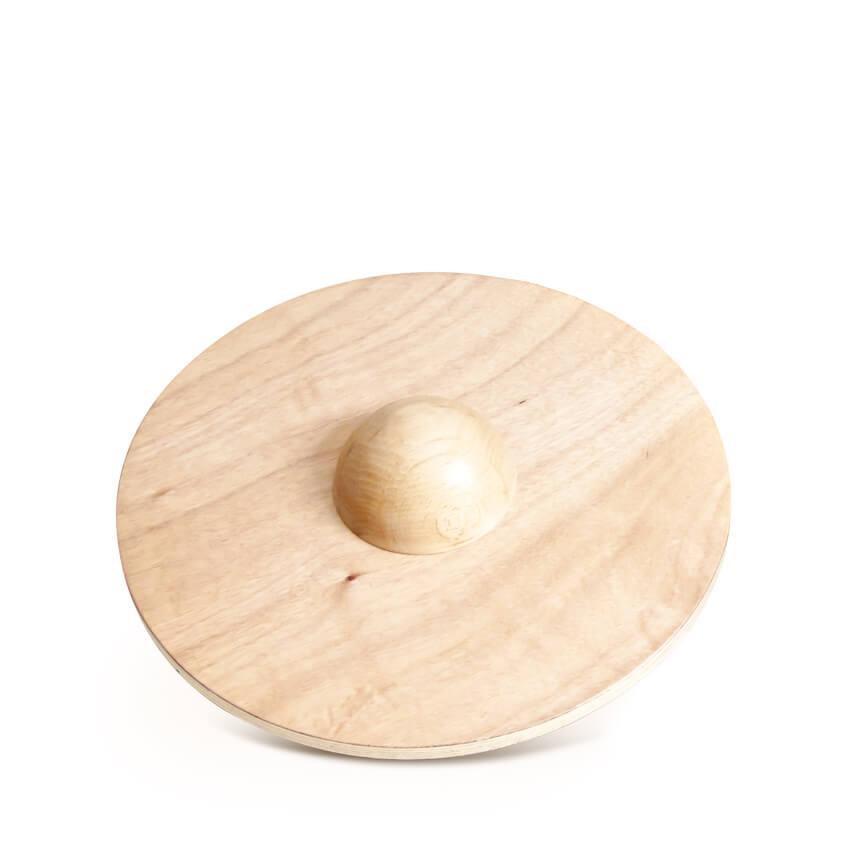 Plateau d'équilibre bois circulaire