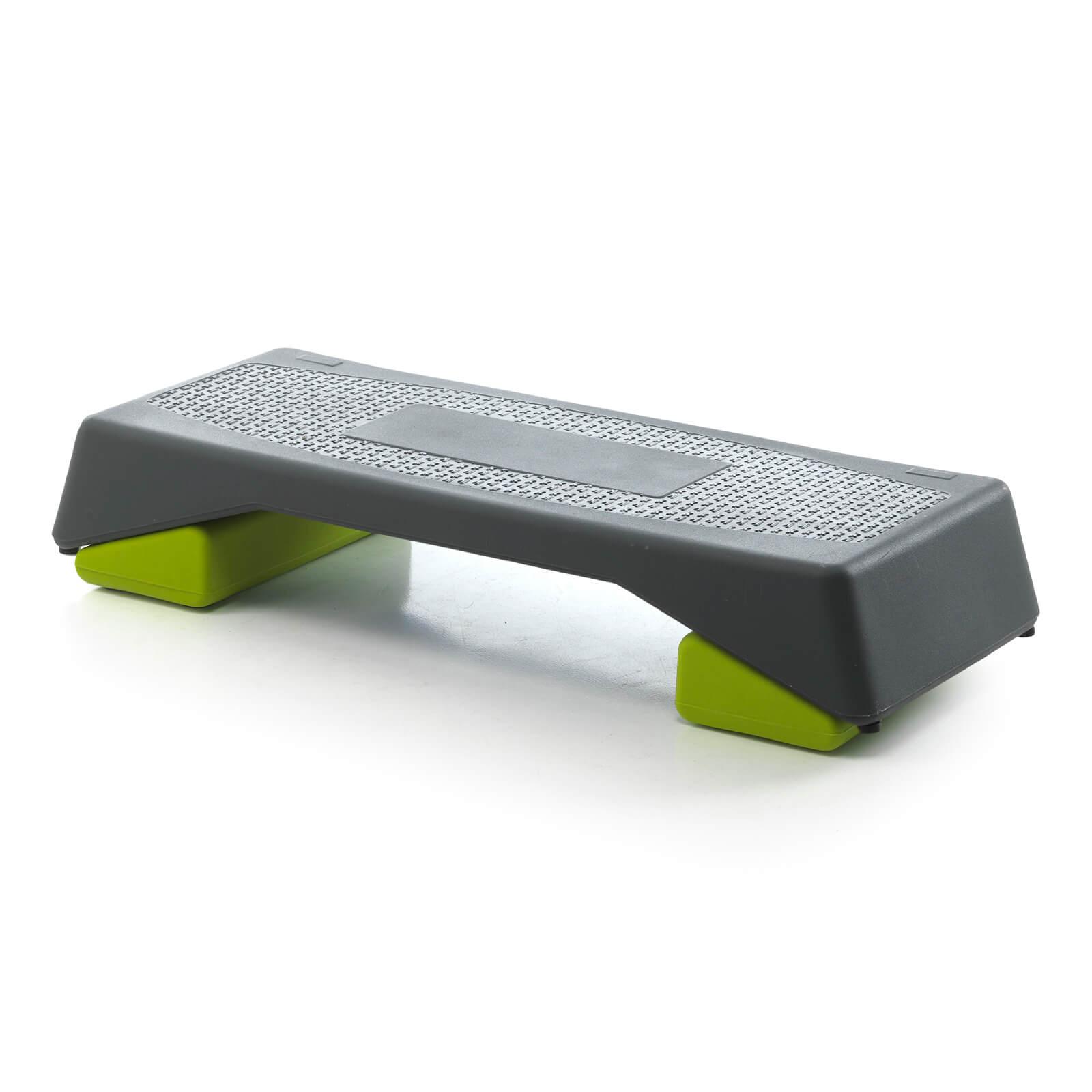 Step Aerobika Gris-Vert