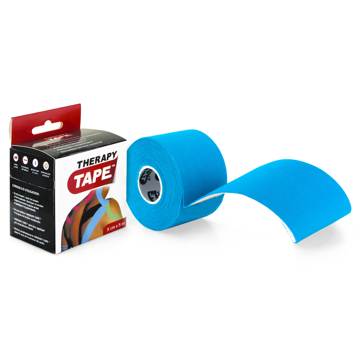 Therapy Tape - Rouleau Bleu - 5m