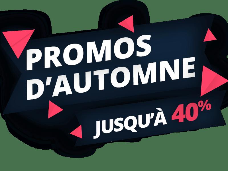 LES PROMOS D'AUTOMNE